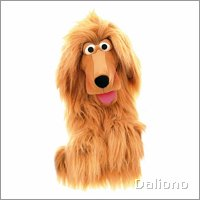 Living Puppets hand puppet Lulu the dog