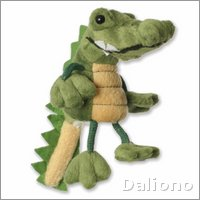 Finger puppet crocodile