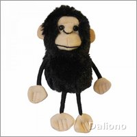 Finger puppet chimp