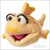 Living Puppets hand puppet Flupsi the small fish