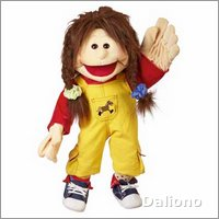 Living Puppets hand puppet twin Lou