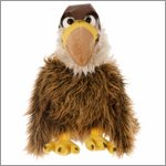 Living Puppets hand puppet Heiko the eagle