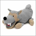 Wolf - hand puppet for babys by Sterntaler