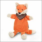 Fox - hand puppet for babys by Sterntaler