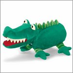 Crocodile - hand puppet for babys by Sterntaler