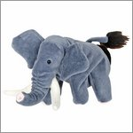 Hand puppet Elephant - by Beleduc