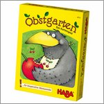 Card game Obstgarten with wooden materials by HABA