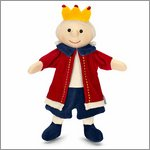 King - hand puppet for babys by Sterntaler