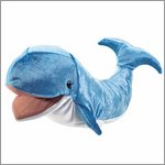 Folkmanis hand puppet whale