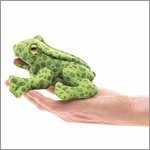 Folkmanis Fingerpuppe mini Frosch